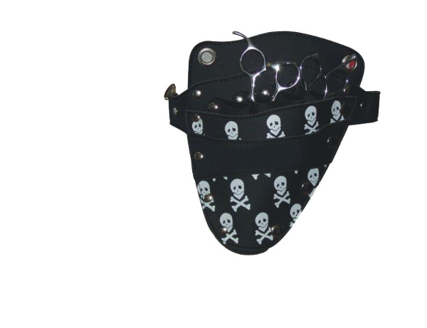 TOP HD305 SKULL PRINT - HOLSTER TOOL POUCH SKULL PRINT