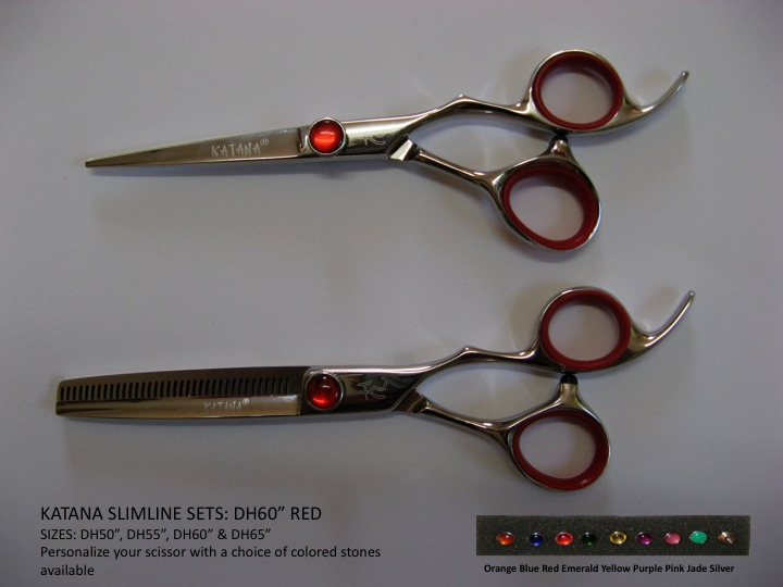 DH60 - DH60 Katana Slimline set red