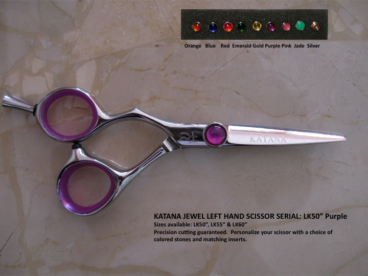 LK50 - Katana Jewel Scissor Left Hand (Purple)